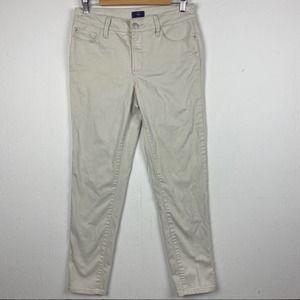 NYDJ Lift Tuck Cream Ankle Pants
